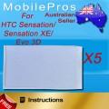 3M Adhesive tape for HTC Senstation/Sensation XE/EVO 3D x5