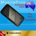 HTC Sensation G14 BACK COVER [BLACK]