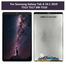 Samsung Galaxy Tab A10.1 2019 T510 T515 LCD Touch Screen Assembly [Black]