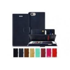 Goospery Mansoor Diary Case for iPhone 11 (6.1) [Black]