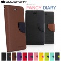 Mercury Goospery Fancy Diary Case For Samsung A50 / A505 / A50S /A30S [Black]