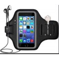 Universal Sports GYM Arm Band X-Large for iphone 11ProMax/11/RX/8P/7P/6P, Samsung S10P/S9P/S8P/Note [Black]