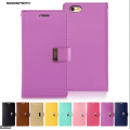 Goospery Rich Diary Case for iPhone 11 (6.1) [Purple]