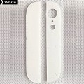 iPhone 5 Upper Lower Glass for Back Cover [White]