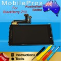 BlackBerry Z10 LCD and Touch Screen Assembly 001/111 REV E [Black]