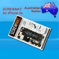 Genuine SCREWMAT for iPhone 4S