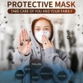 PACK OF 2 KN95  Respirator Face Mask Safety Protective Face Mask Earloop 3-Layers