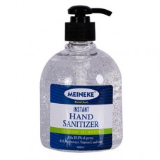 Meineke Hand Sanitiser 500ml: Kills 99.9% of Germs with Moisturizer, Vitamin E and Aloe Hand Sanitizer Gel 500ml  No-wash