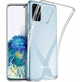 Goospery Jelly Case for Samsung Galax S20 [Clear]