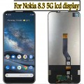 Nokia 8.3 5G LCD and Touch Screen Assembly [Black]