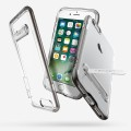 Spigen Crystal Hybrid Metal KicksStand Case for iPhone 5 [Silver]