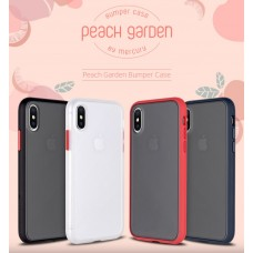 Goospery Peach Garden Bumper Case for Samsung Galax S20 [Black/Red]