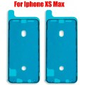 Sticker Adhesive Glue Tape for iPhone XS Max LCD Screen Digitizer Front Frame [Black]