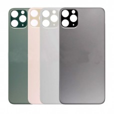iPhone 11 Pro Back Cover Glass with Big hole Aftermarket [Silver]