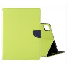Mercury Goospery Fancy Diary Case For iPad Pro 12.9 4th 2020 [Lime]