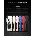 i-Crystal 2in1 Hybrid Magnetic Kickstand Armor Case for iPhone 11 [Red]