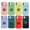 Slide Camera Lens Protection Kickstand Soft Case for iPhone XR [Peach]