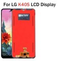 LG K40S LCD and Touch Screen Assembly [Black]