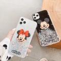 Bling Glitter Mickey Soft TPU Case for iPhone 6/7/8/SE 2020[Black]