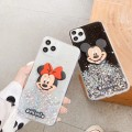 Bling Glitter Mickey Soft TPU Case for iPhone XR [Black]