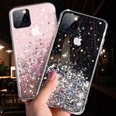 Bling Glitter Soft TPU Case for iPhone 11 Pro Max [Black]