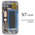 Samsung Galaxy S7 LCD and Touch Screen Assembly with frame [Black]