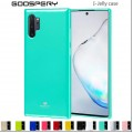 Mercury Goospery I-Jelly Case for Samsung Galax Note 10 Plus [Blue]