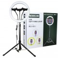 """12"""" Selfie Soft Ring Light Set with 1.6m Tripod Stand & 3 x Phone Holder for Makeup Live Stream"""
