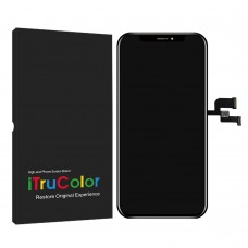 iPhone XS MAX LCD and Touch Screen Assembly [High-End Aftermarket][iTruColor][Hard] [Black]