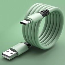 Liquid Silica Gel Type-C USB Charging Cable 1M