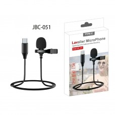 TYPE-C Lavalier Micro Phone JBC-051 Superb Sound For Audio and Video Recording
