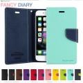 Mercury Goospery Fancy Diary Case For Samsung Note 20 [Navy]