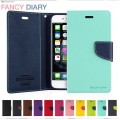 Mercury Goospery Fancy Diary Case For Samsung Note 20 [Navy]