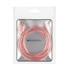 GOOSPERY MERCURY Metalic Cable Type-C USB Charging Cable 1M