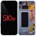 Samsung S10e OLED and Touch Screen Assembly with frame [Green]