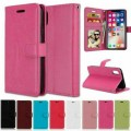 """Leather Wallet Case For Apple iPhone 12 Mini 5.4"""" [Red]"""