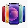"Case for Iphone 12 Mini 5.4"" [Mid Blue-Black]"