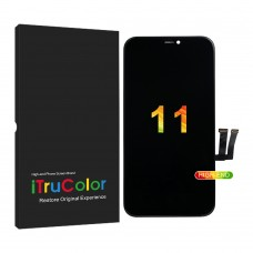 """iPhone 11 (6.1"""") LCD and Touch Screen Assembly [High-End Aftermarket][iTruColor][Incell] [Black]"""