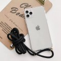 """Air Bag Cushion DropProof Crystal Clear Case with Lanyard For iPhone 12 ProMax 6.7"""""""