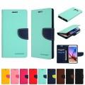 """Mercury Goospery Fancy Diary  Case for iPhone 12 / 12 Pro (6.1"""") [Purple]"""