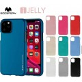 """Mercury Goospery I-Jelly Case for iPhone 12 / 12 Pro (6.1"""") [Hot Pink]"""