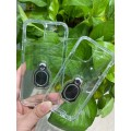 """Air Bag Cushion DropProof Crystal Clear Soft Case with Spring Kickstand For iPhone 12/ 12 Pro 6.1"""""""