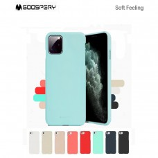 Mercury Goospery Soft Feeling Jelly Case for Samsung Galax S21 Ultra G998 [Pink Sand]