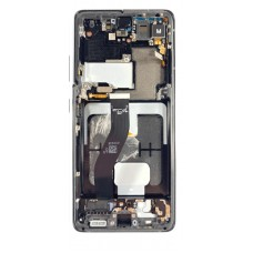 Samsung Galaxy S21 Ultra OLED and Touch Screen Assembly with frame [Phantom Black]