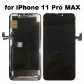 """iPhone 11 Pro Max (6.5"""") OLED and Touch Screen Assembly [High-End Aftermarket][iTruColor][OLED][Black]"""