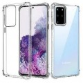 Air Bag Cushion DropProof Crystal Clear Soft Case Cover For Samsung A21S/A217 [Clear]