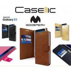 Mercury Goospery BLUEMOON DIARY Case for Samsung Galax A32 4G A325 [Black]