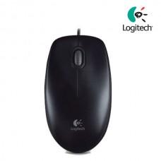 Logitech B100 Optical USB Black Mouse