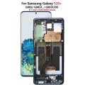 Samsung Galaxy S20 Plus OLED and Touch Screen Assembly with frame [Aura Blue]