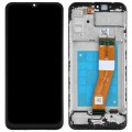 Samsung Galaxy A02s SM-A025 PLS IPS and Touch Screen Assembly with Frame [Black]